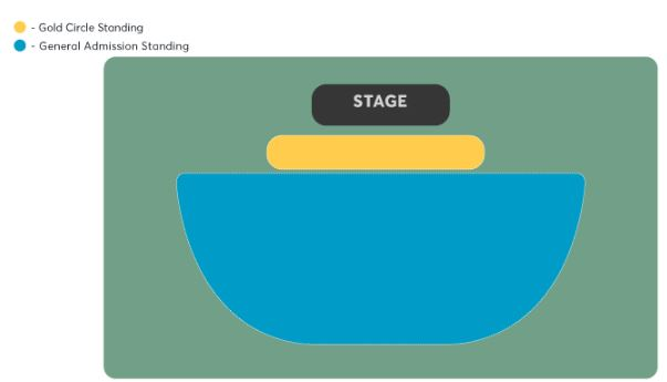 Michael Buble Seating plan