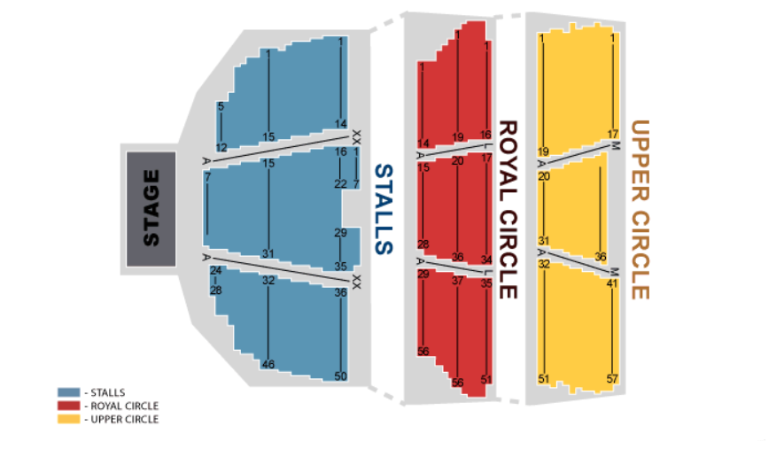 Sting Seating plan